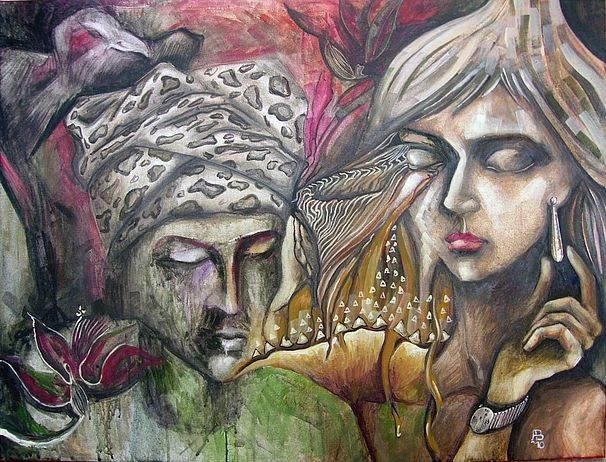 andrea bernath_the Big Bird, the Man with Wishing-cap, the Girl with Earring and Watch