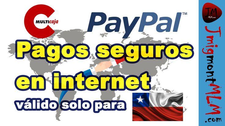 Agregar dólares de mi cuenta Rut a Paypal a través de Multicaja