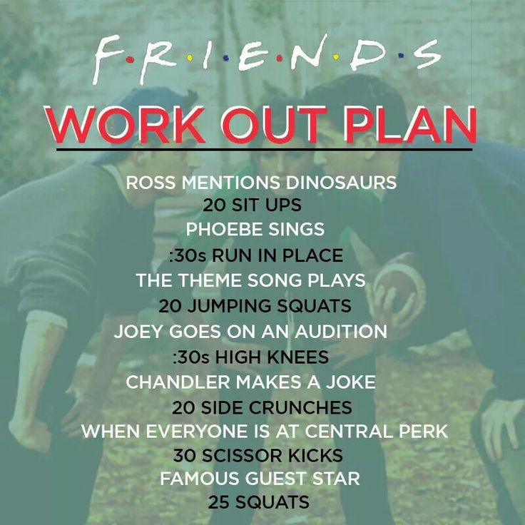 Friends workout
