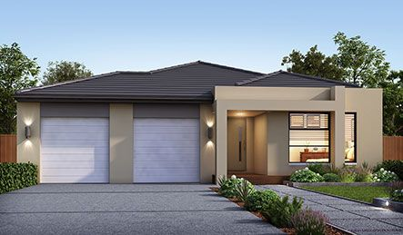 Our Georgia Facade. Visit our website for more information on our range of options for your new home.