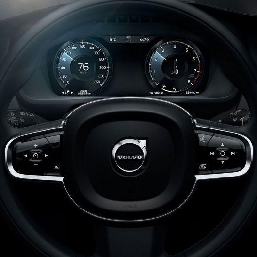 Volvo reveals the interior of the XC90.