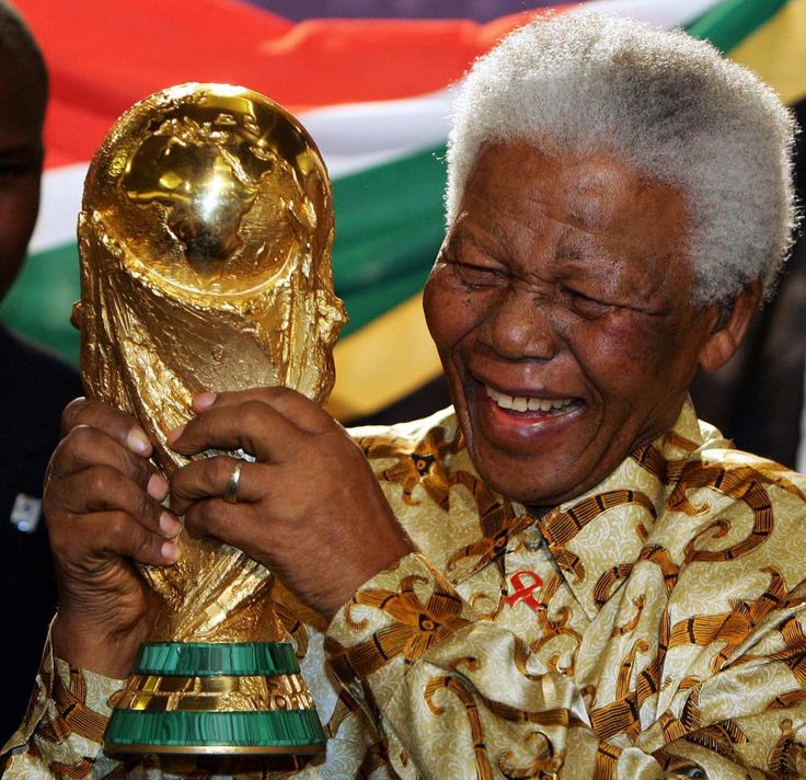 Nelson Mandela's influence was decisive in South Africa earning hosting rights for the 2010 World Cup.