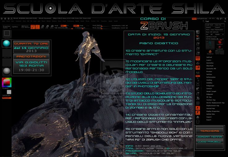 Zbrush 3D Digital Sculpting Course - page 11 by JordanNennaArt.deviantart.com on @deviantART