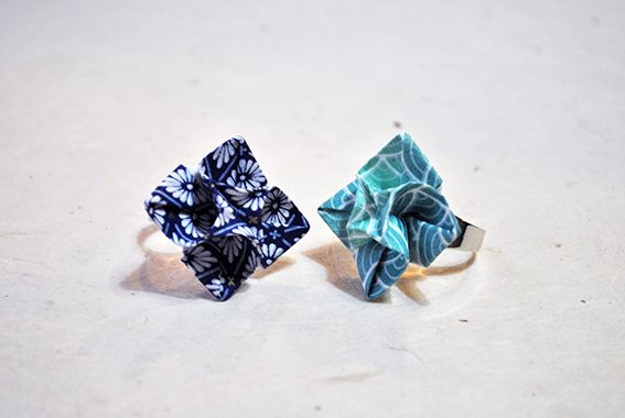 Ring *origami collection* by Annalisa Feola, via Behance