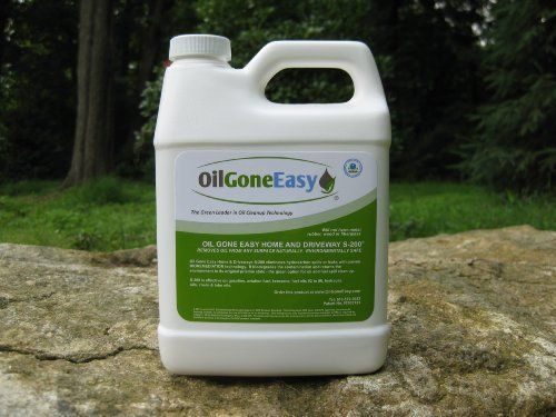 Oil Gone Easy Multipurpose Oil Stain Remover and Oil Spill Cleanup Product (S-200) by Oil Gone Easy. $24.95. Oil Gone Easy is rocognized by the EPA. S-200 was used to clean up the Prestige spill off Spain.. Easy to use - pour on and forget. No cleanup required.. Remove oil or fuel spills in an envronmentally safe manner.. Product treats everything from a small stain to large spill on any surface - land or water.. Oil Gone Easy Home & Driveway S-200 is a proven, EPA-rec...