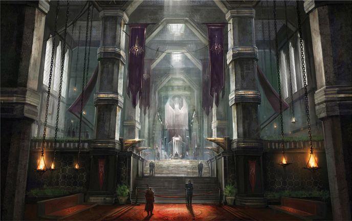 Dragon Age II | 2!, Art and Entrance