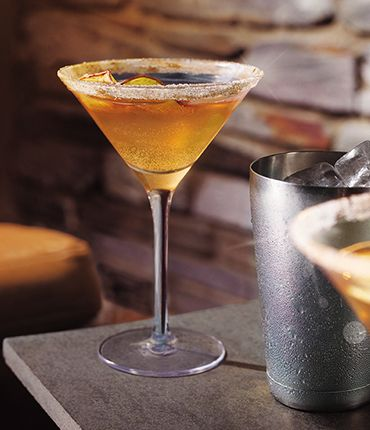 Grey Goose Spiced Apple #Martini, the Holiday #cocktail EVERYONE must try.