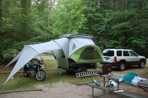Enclosed Motorcycle Shelter : Počet nápadů na téma motorcycle tent trailer pinterestu