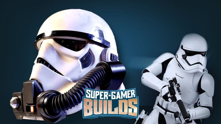 Starwars Battlefront Storm Trooper & Rebel Commando Helmets - Super Game...