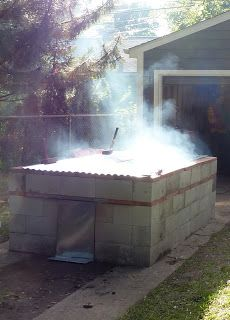 Caught Smokin' Barbecue - All Things Barbecue and How to Roast a Pig: How to Build a BBQ Pit,the way we did it growing up.........BBQDAVE