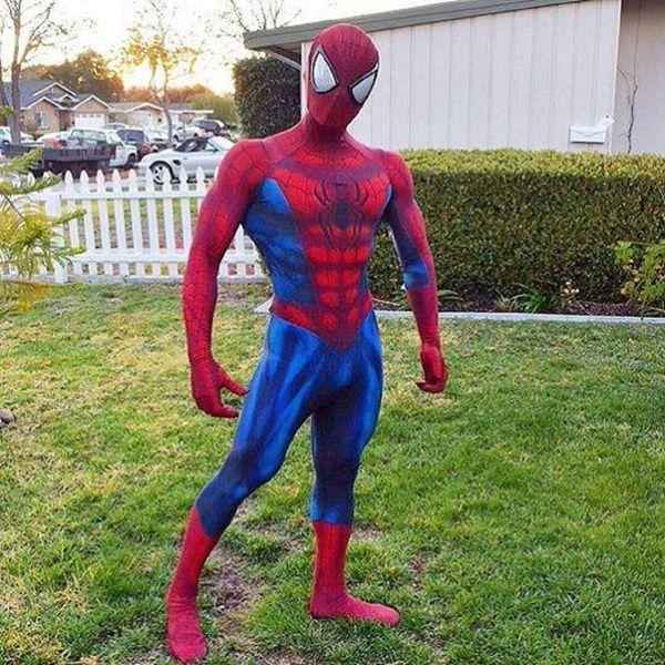 Amazing Spider-Man Costume 3D Original Movie Spandex Spiderman Superhero Suit