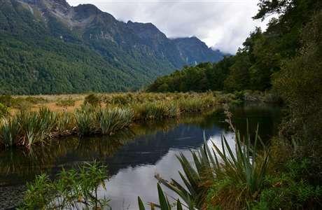Mirror Lakes Fiordland