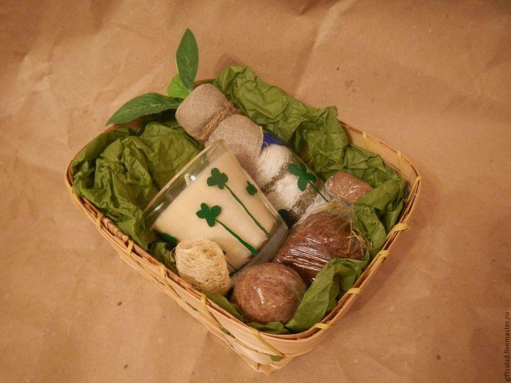 Купить Лесной №1 Подарочный набор - мыло с нуля, мыло-скраб, веган косметика
