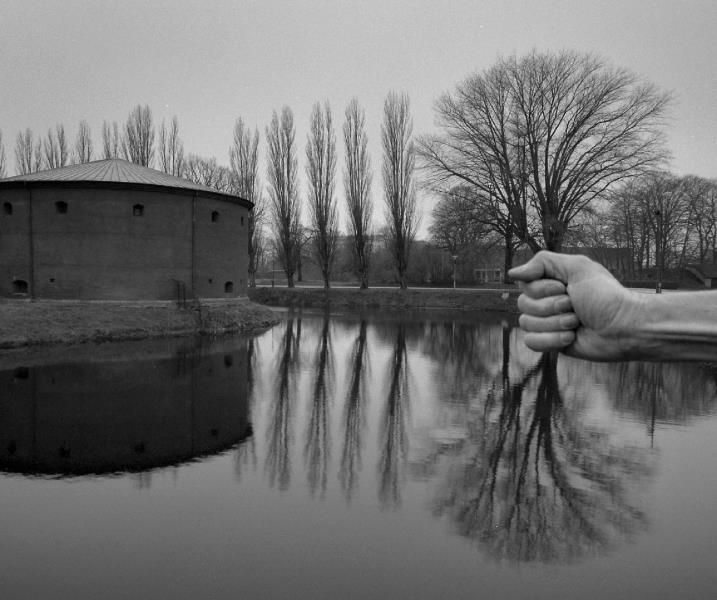 Forced perspective photography   (by Arno Rafael Minkkinen)