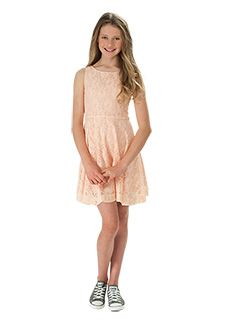 Urban Angel spring collection 2013. Lace overlay dress.