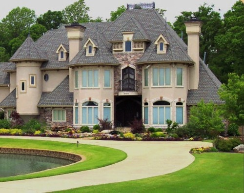 Turrets And Towers! Bungalow DesignsBig HomesLuxury ...