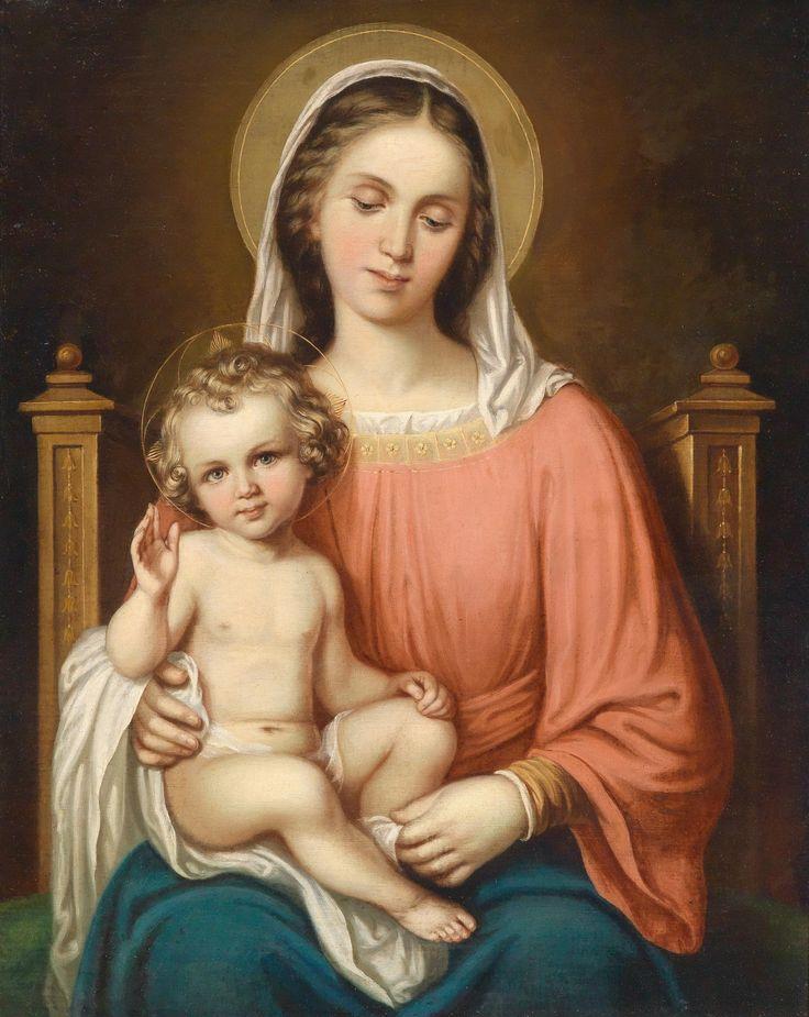 Dominik Weber. Madonna mit dem Jesuskind
