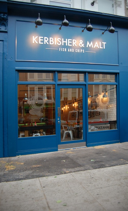 Kerbisher & Malt (London) the best fish and chips in London