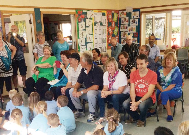 Grandparents Day at the ACG Strathallan Preschool