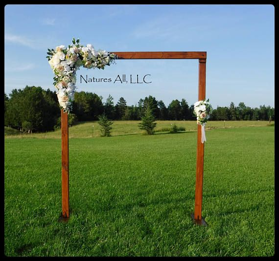 Wedding Arch Arbor Rustic Complete Kit Indoors Or Outdoors Country Backdrop Provincial Shipping Included