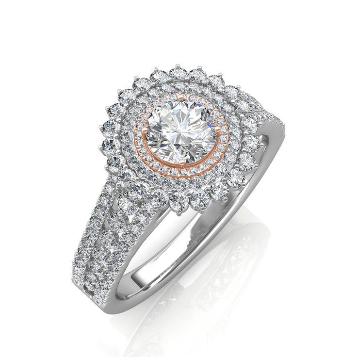 17 best Designer Solitaire Diamond Rings images on Pinterest