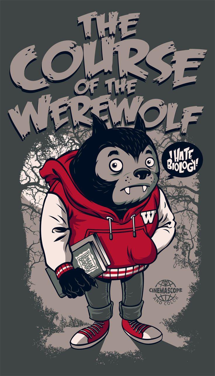 The Course of the Werewolf by Rusc.deviantart.com on @deviantART