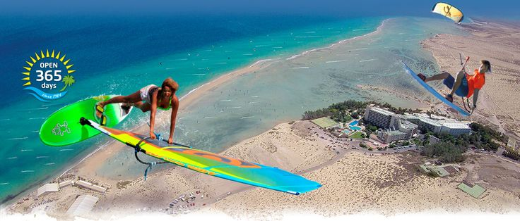 René Egli Windsurfen & Kitesurfen Fuerteventura