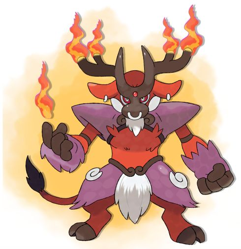 Pyrox is the second evolution of the fire type starter for Chaos Black/Pure White, Pyrull, made...