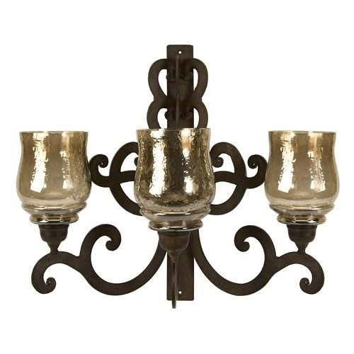 Wall Sconce Pillar Candle : 142 best images about Wall Sconces on Pinterest Wall mount, Light walls and Bronze wall sconce
