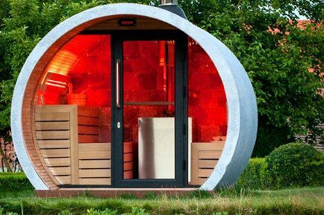 klafs sauna. Black Bedroom Furniture Sets. Home Design Ideas