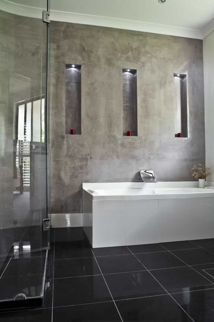 Die besten 25+ Fugenloses bad Ideen auf Pinterest Lichtbeton - renovierung badezimmer kosten