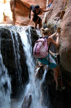 Utah hike trail: Kanarra Creek Canyon (added to the list of must-do!)