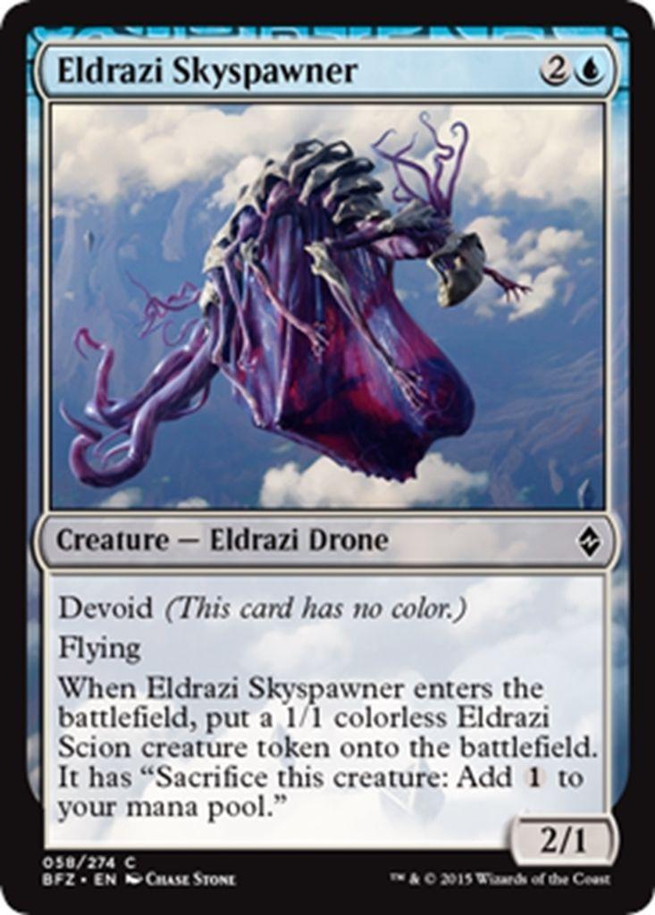 Eldrazi Token //// NM //// Battle for Zendikar //// engl //// Magic Gathering