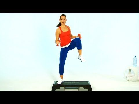 20 Minuten-Training Step Vol.1 mit Nadine Kortenbruck - YouTube