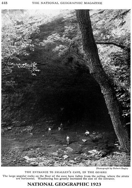 Smallin Cave, near Springfield MO