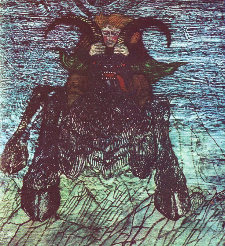 by Andrzej Strumiłło for Robert Stiller's Narzeczony z morza (Poland, 1971)