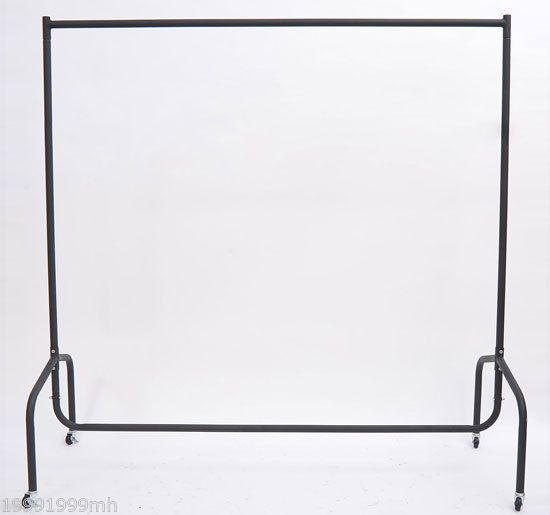 6' Heavy Duty Rolling Clothes Rack Garment Clothing Storage  #HomCom