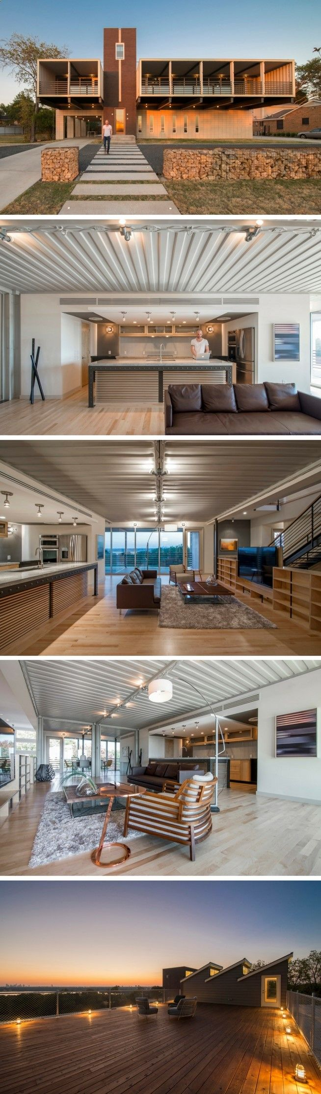 I totally fell in love with this house! A true Texan beauty with a very  traditional shipping container house feel! Come along for a wonderful tour  of this.