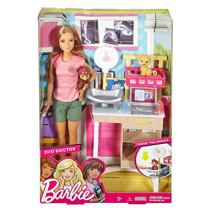 Check out the Barbie Zoo Doctor Playset (DVG11 ) at the official Barbie website. Explore the world of Barbie today!