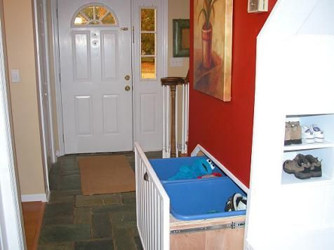 17 best ideas about garage laundry rooms on pinterest garage laundry basement laundry area - Space saving garage shelves ideas must have ...