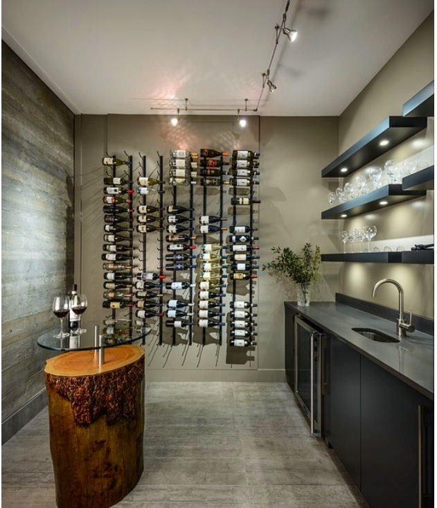 Best Wet Bar Images On Pinterest Wet Bars Basement Ideas And - 32 amazing examples home wine cellars