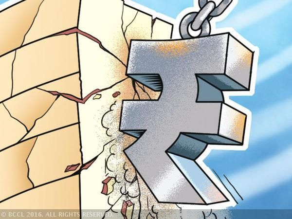 Watch the rupee: Its instability can put 50% of top 500 companies at risk - The Economic Times