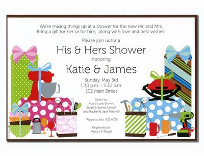 11 Best Around The House Shower Invitations Images On Pinterest