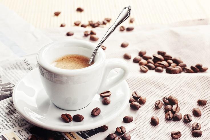 A homemade bialetti-brewed espresso shot #foodquest #espresso
