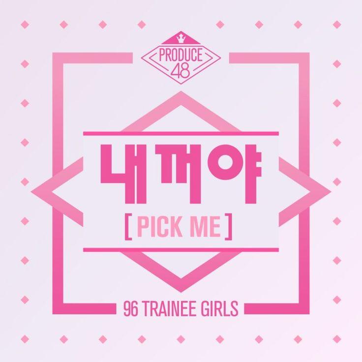 PRODUCE 48 - 'Pick Me (Nekkoya)' Album Cover | ~~ Kpop Albums ~~ in
