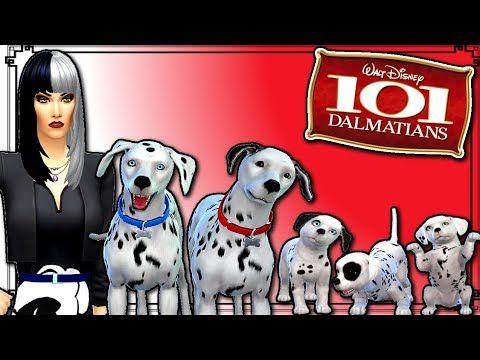 The Sims 4 101 Dalmatians Create A Pet - Disney Create A Pet Series