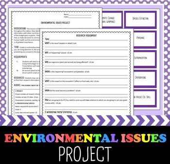Essay on environmental issues