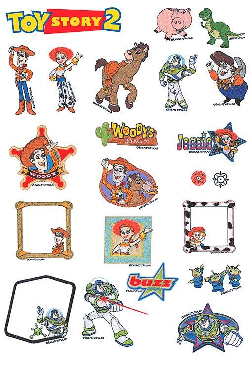 disney pixar toy story machine embroidery designs download available in all format