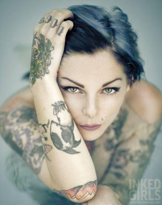 266 best girls of inked magazine images on pinterest for Best tattoo magazine