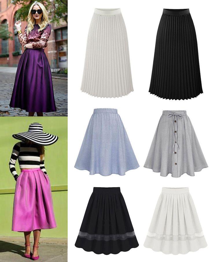 ·Colores y Precio según el modelo· #Shalala #Ropa #Accesorios #Faldas #Blanco #Casual #Negro #Outfit #Larga #Chiffon